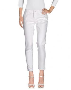 Джинсовые брюки SI-JAY. Цвет: белый