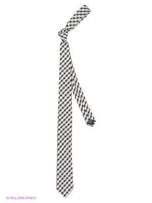 Галстук KARFLORENS. Цвет: черный, белый