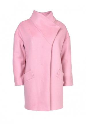 Пальто Grafinia. Цвет: розовый