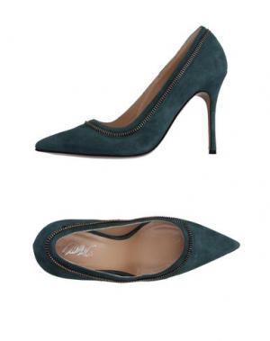 Туфли CARLA G.. Цвет: цвет морской волны