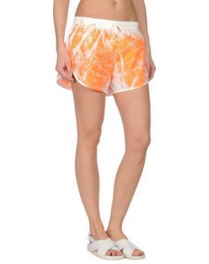 Повседневные шорты TEE-TREND. Цвет: оранжевый