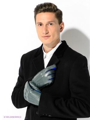 Перчатки Michel Katana. Цвет: темно-зеленый, синий