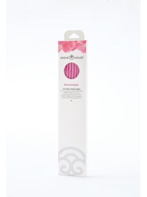 Парфюмерные палочки Букет роз 6 шт SERENE HOUSE. Цвет: розовый