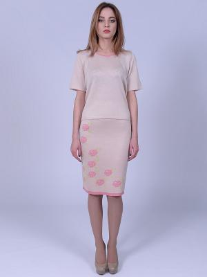 Блузка Farfalla. Цвет: розовый