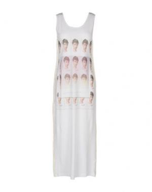 Длинное платье KEYHOLE. Цвет: белый
