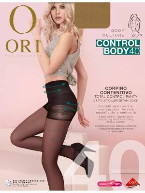Колготки ORI Control Body 40 den. Цвет: бежевый