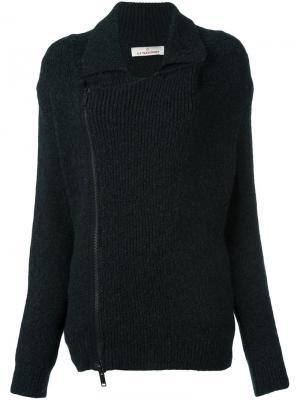 Пуловер Train A.F.Vandevorst. Цвет: серый