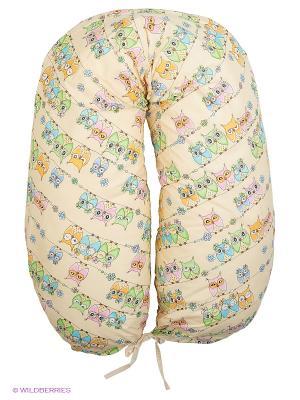 Подушка для беременных EUROMAMA. Цвет: бежевый