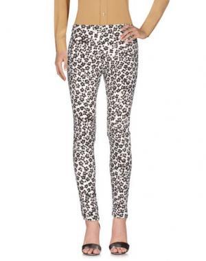 Повседневные брюки EMANUEL UNGARO. Цвет: слоновая кость