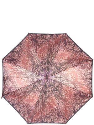 Зонт Eleganzza. Цвет: коричневый, темно-красный, фиолетовый