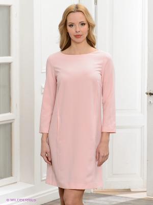 Платье Anna Rachele Jeans. Цвет: розовый