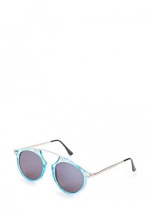 Очки солнцезащитные Piazza Italia. Цвет: голубой