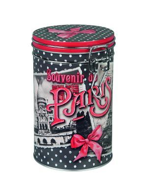 Контейнер для хранения Воспоминания о Париже Orval. Цвет: белый, черный, красный