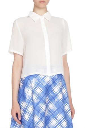 Блузка Glamorous. Цвет: white