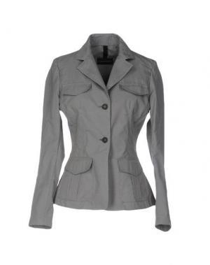 Пиджак AQUASCUTUM. Цвет: серый