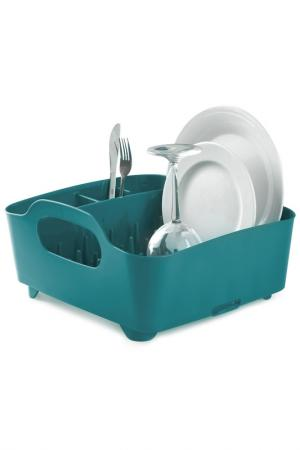 Сушилка для посуды UMBRA. Цвет: синий