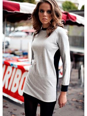 Платье спортивное C.H.I.C.. Цвет: серый, черный