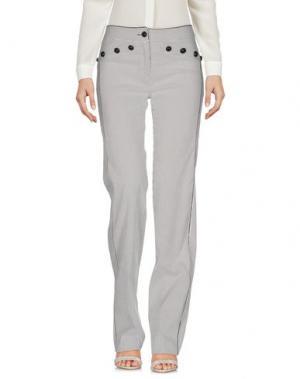 Повседневные брюки EUREKA. Цвет: стальной серый