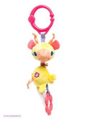 Развивающая игрушка Дрожащий дружок, Жираф BRIGHT STARTS. Цвет: желтый, розовый