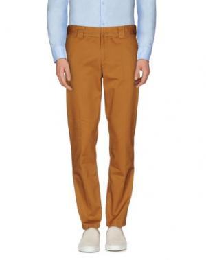 Повседневные брюки DICKIES. Цвет: верблюжий