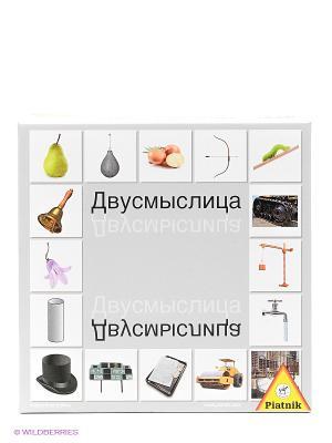 Настольная игра Двусмыслица Piatnik. Цвет: белый, серый