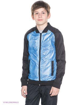 Куртка Orby. Цвет: черный, синий