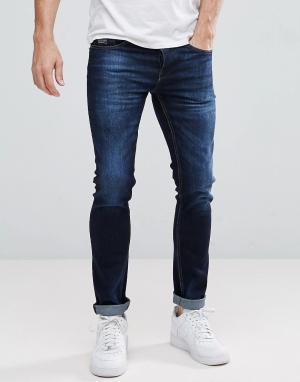 Voi Jeans Джинсы скинни. Цвет: синий