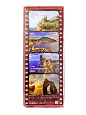 Твердое натуральное мыло Клубника со сливками Крымская Натуральная Коллекция. Цвет: красный