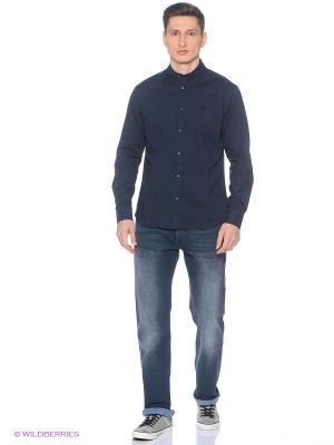 Рубашка Wrangler. Цвет: черный