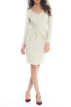 Платье Moda di Chiara. Цвет: light grey