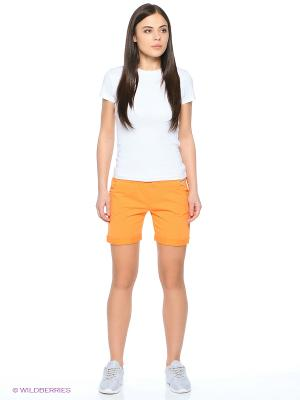 Шорты CMP. Цвет: оранжевый