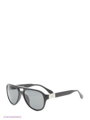 Солнцезащитные очки LM 528 05 La Martina. Цвет: черный