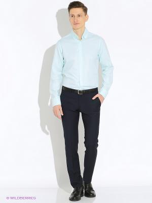 Рубашка the Kravets. Цвет: светло-голубой