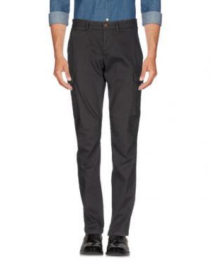 Повседневные брюки MAISON CLOCHARD. Цвет: свинцово-серый