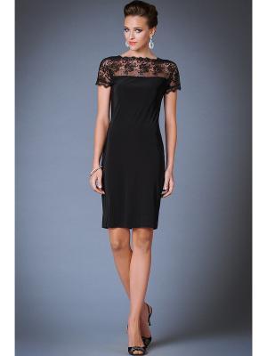 Платья Арт-Деко. Цвет: черный