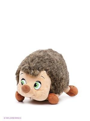 Мягкая игрушка Ежик Мульти-пульти. Цвет: коричневый