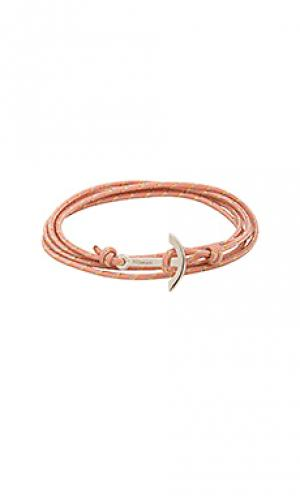 Браслет mini modern anchor Miansai. Цвет: розовый