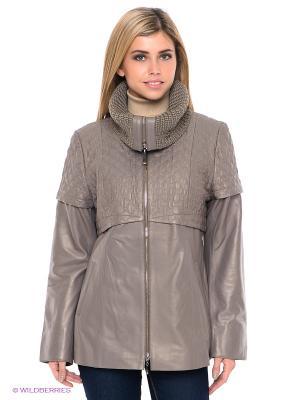 Куртка STEFANO FERRI. Цвет: серый