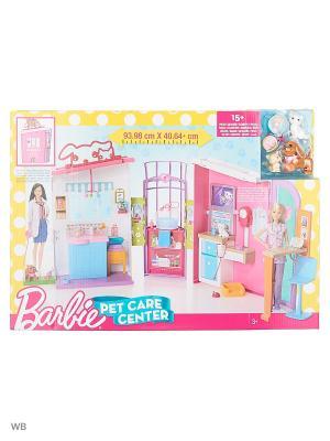Ветеринарный центр Barbie. Цвет: синий
