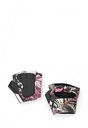 Перчатки для фитнеса Labellamafia. Цвет: разноцветный
