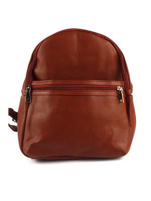 Рюкзак 1Azaliya. Цвет: коричневый