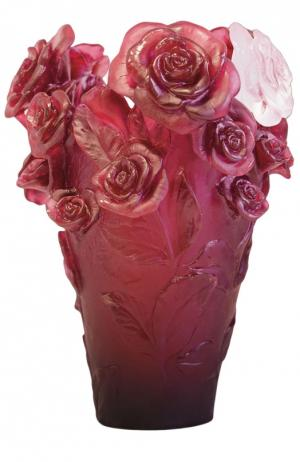 Ваза Rose Passion Daum. Цвет: розовый