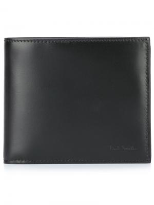 Бумажник Paul Smith. Цвет: чёрный