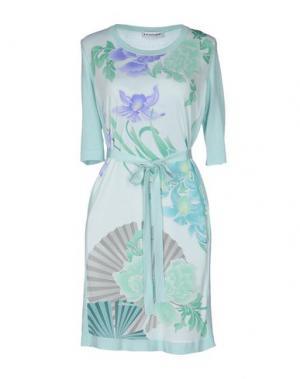Короткое платье LEONARD. Цвет: светло-зеленый