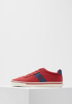 Кеды Polo Ralph Lauren. Цвет: красный