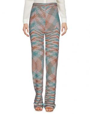 Повседневные брюки LAMBERTO LOSANI. Цвет: коричневый