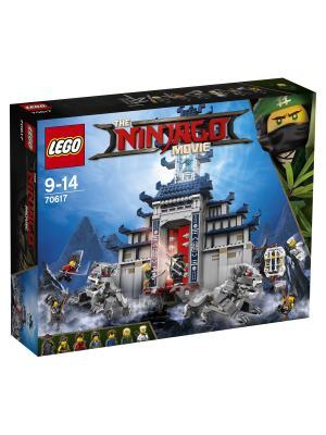 Ninjago Храм Последнего великого оружия 70617 LEGO. Цвет: синий