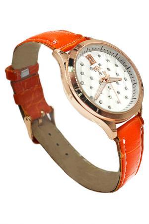 Часы Taya. Цвет: золотистый, оранжевый