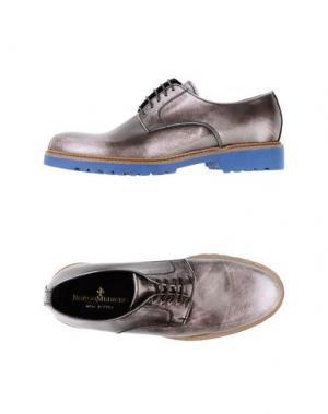Обувь на шнурках BORGO MEDICEO. Цвет: хаки