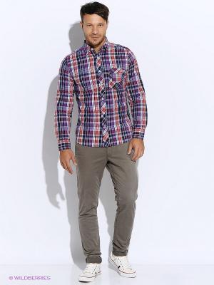 Рубашка Mavango. Цвет: фиолетовый